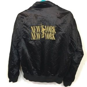 Vintage New York Las Vegas Bomber Jacket